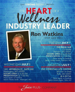 Heart of a Wellness Industry Leader @ Christian Life Center | Rolla | Missouri | United States
