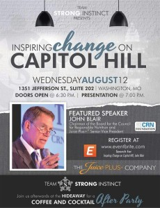 Inspiring Change on Capitol Hill/John Blair @ Washington | Missouri | United States