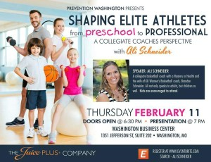 Ali Schneider, Shaping Elite Athletes @ Washington Business Center | Washington | Missouri | United States