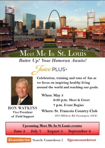 Meet Me in St. Louis - Ron Watkins @ St. Francois County Country Club   Farmington   Missouri   United States