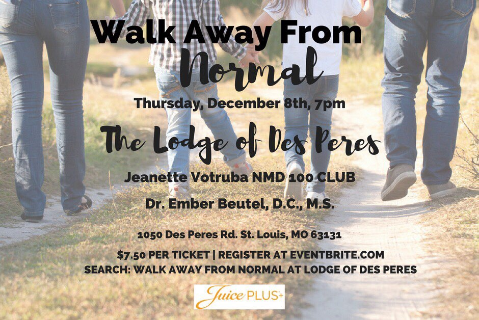 Walk Away From Normal – Prevention STL