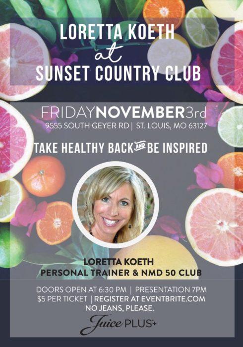 Loretta Koeth @ Sunset Country Club | St. Louis | Missouri | United States