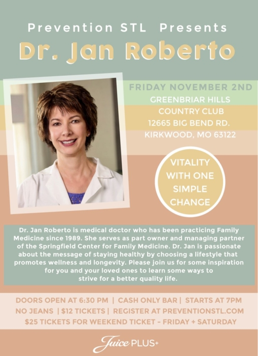 Dr. Jan Roberto @ Greenbriar Hills Country Club | Kirkwood | Missouri | United States