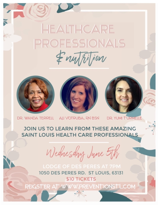 Healthcare Professionals and Nutrition @ The Lodge of Des Peres