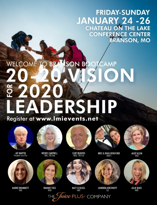 Jan 2020 Branson Boot Camp @ Chateau on the Lake Resort & Conference Center | Branson | Missouri | United States