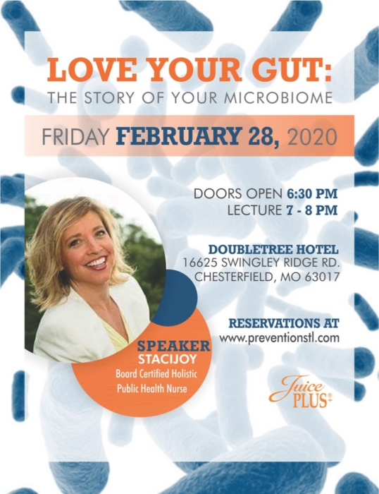 Love Your Gut - Staci Joy @ DoubleTree Hotel | Chesterfield | Missouri | United States